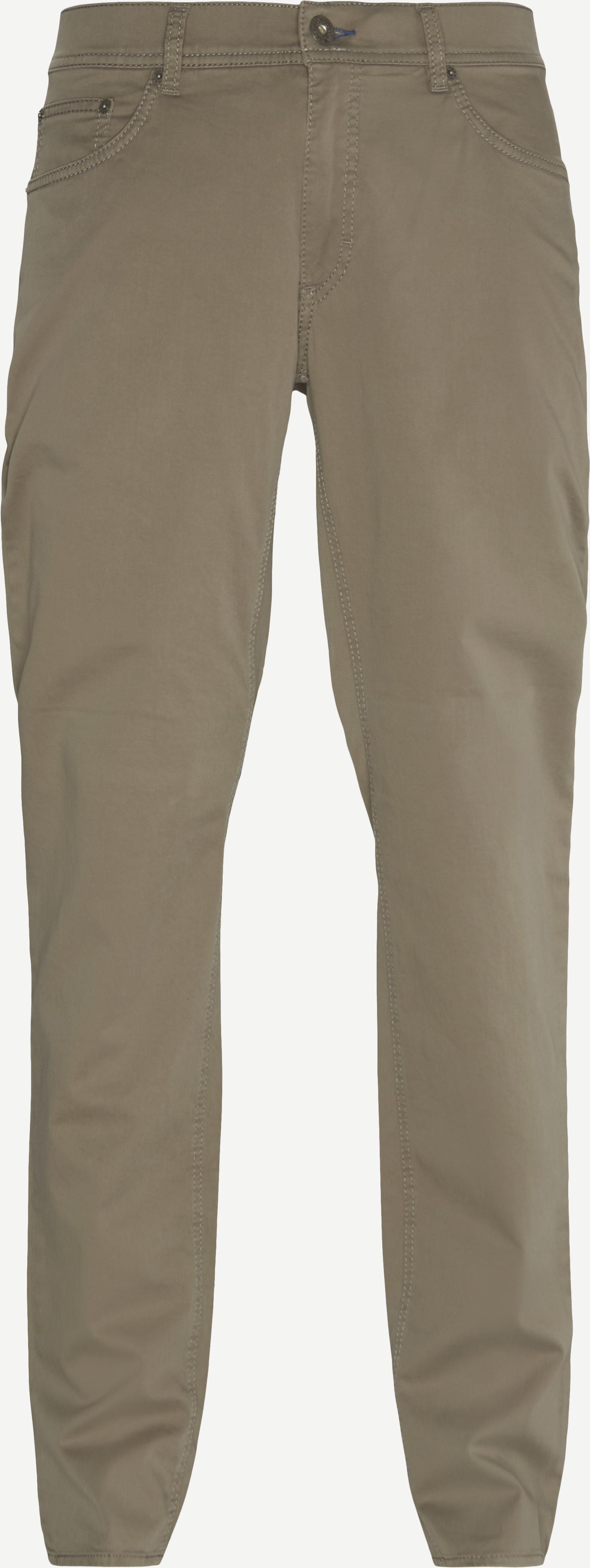 Jeans - Oliv