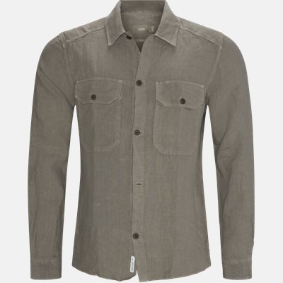 Overshirt  Regular | Overshirt  | Grå