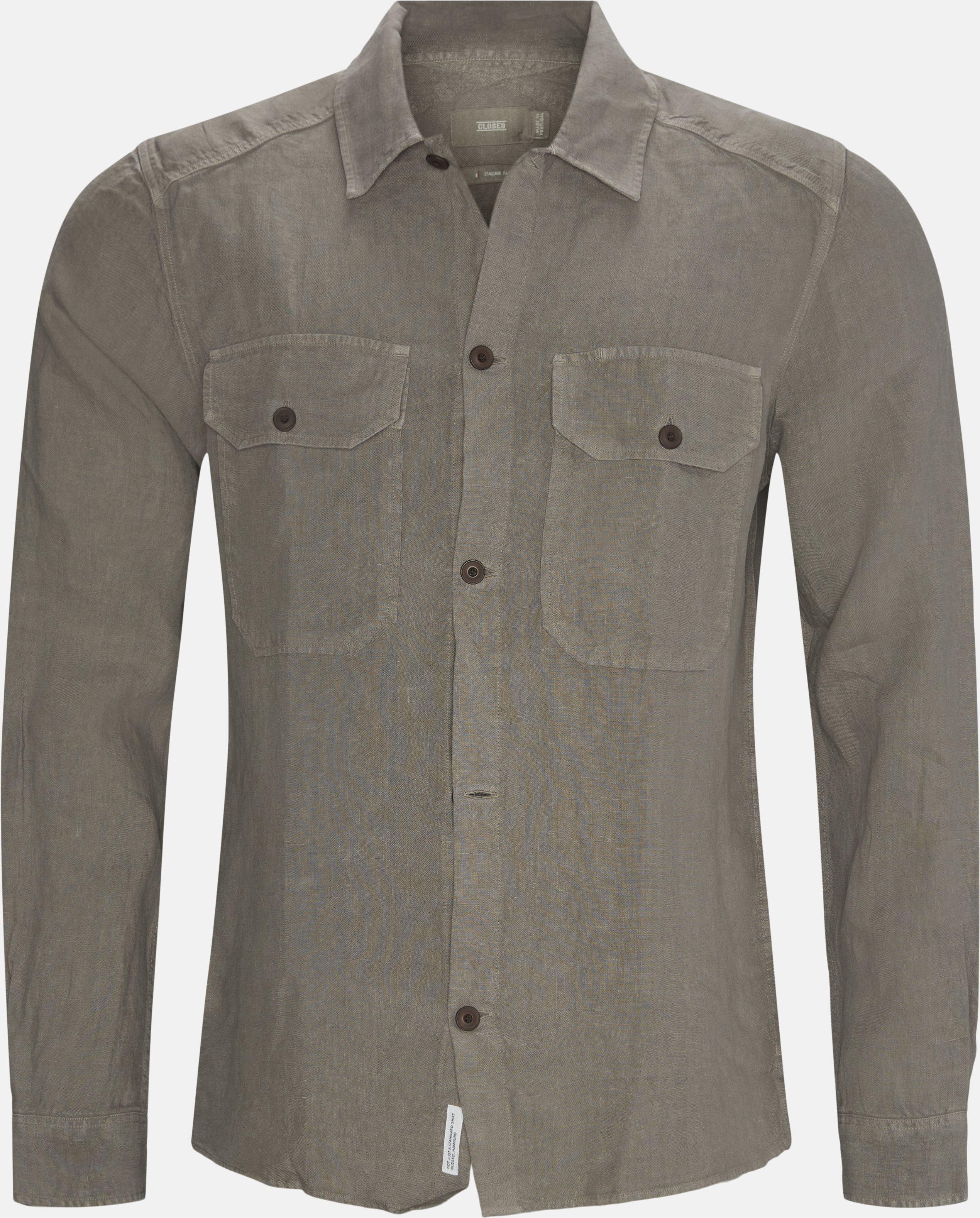 Overshirt  - Skjorter - Regular - Grå