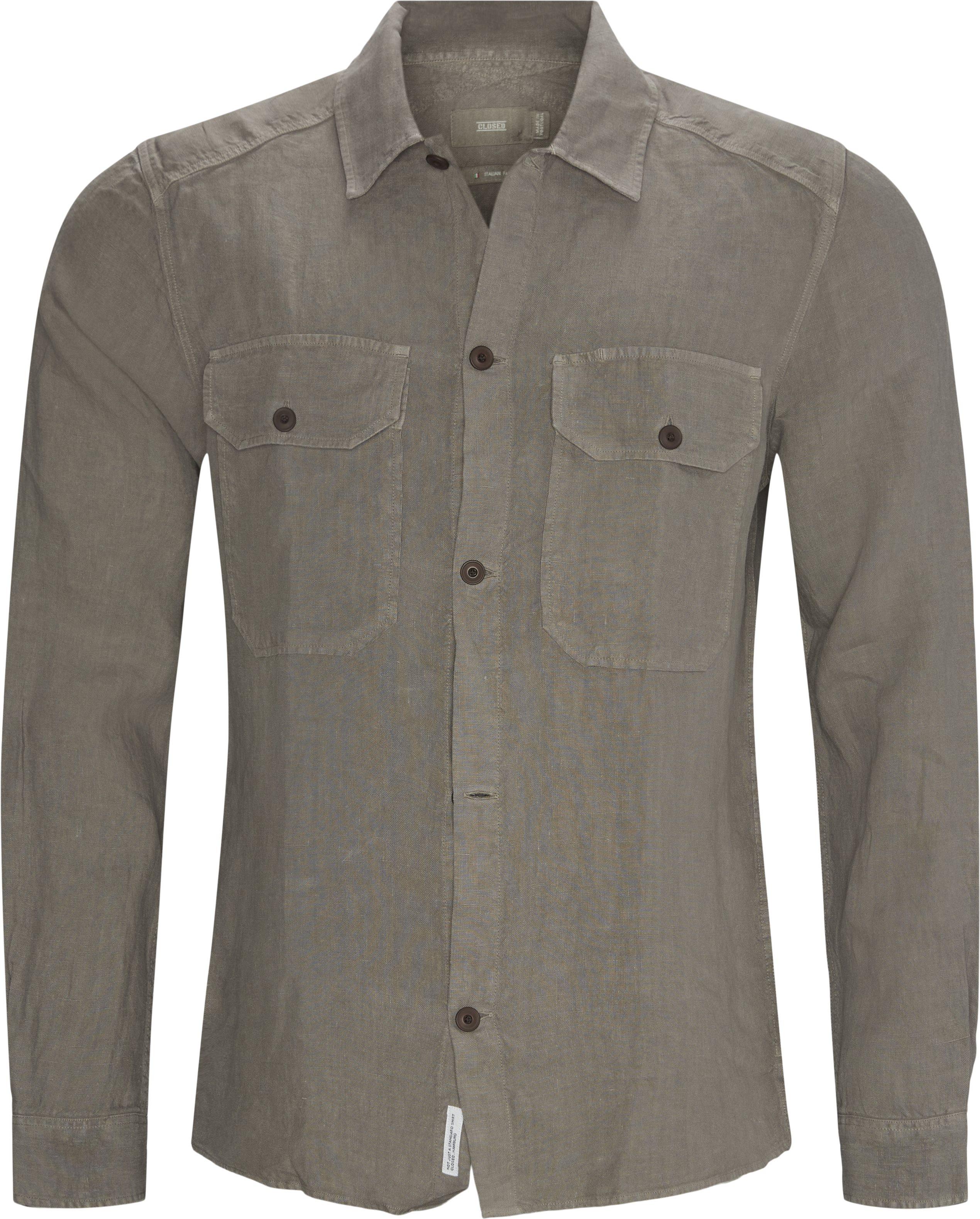 Overshirt  - Skjorter - Regular fit - Grå