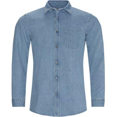 Denim skjorte Regular fit | Denim skjorte | Blå