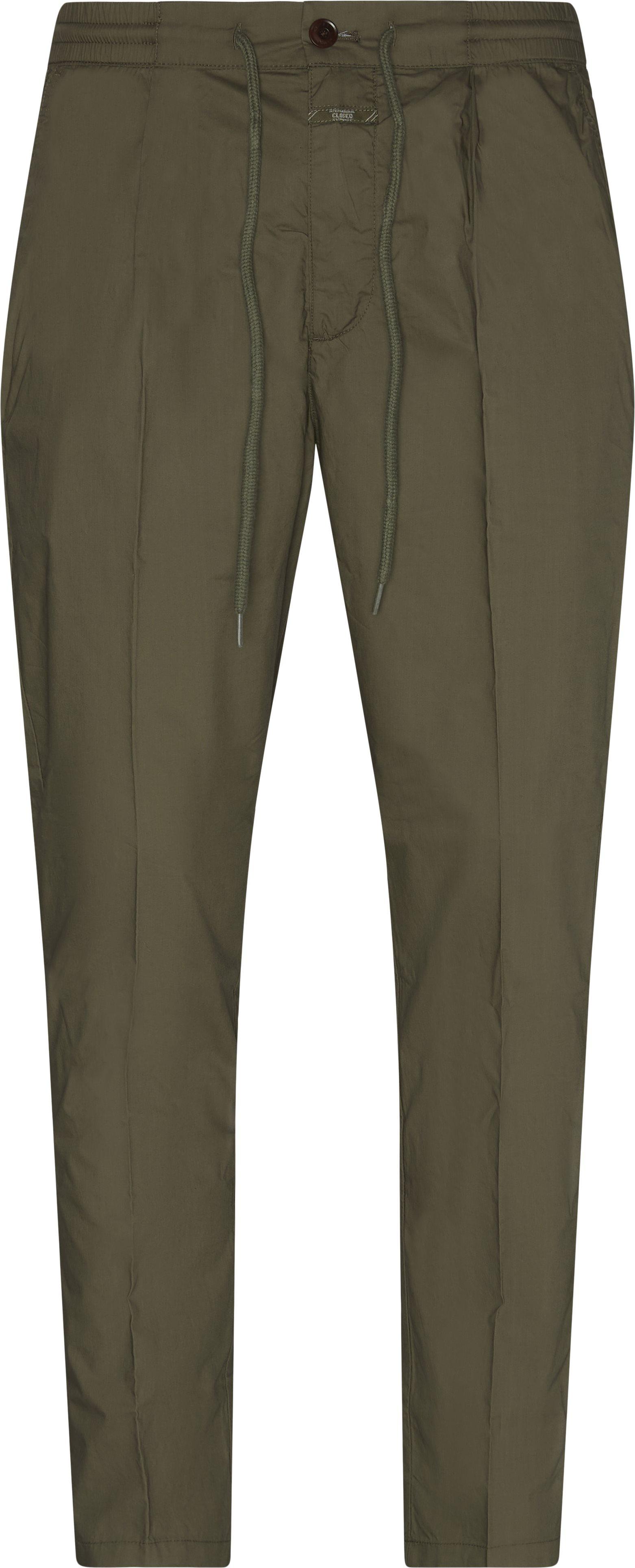 Vigo Tapered Pants - Bukser - Regular fit - Army