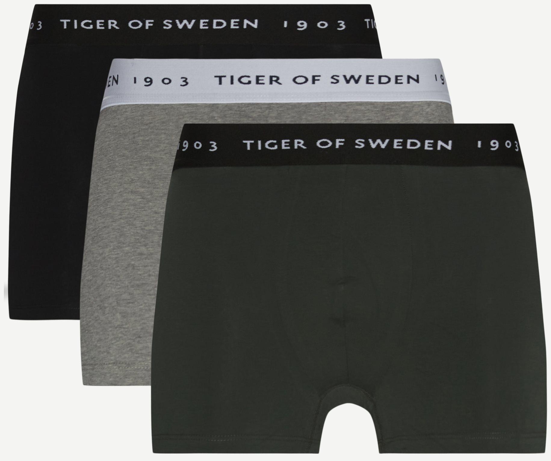 Hermod Organic 3-Pack Tights - Underwear - Multi