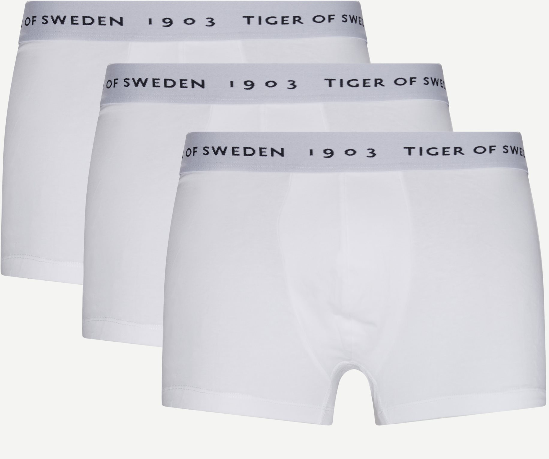 Hermod Organic 3-Pack Tights - Underwear - White