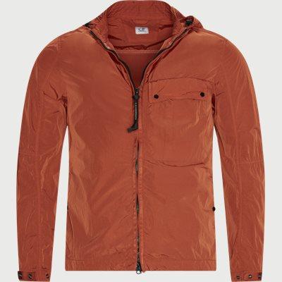 Overshirt Lens Jacket Regular fit | Overshirt Lens Jacket | Orange