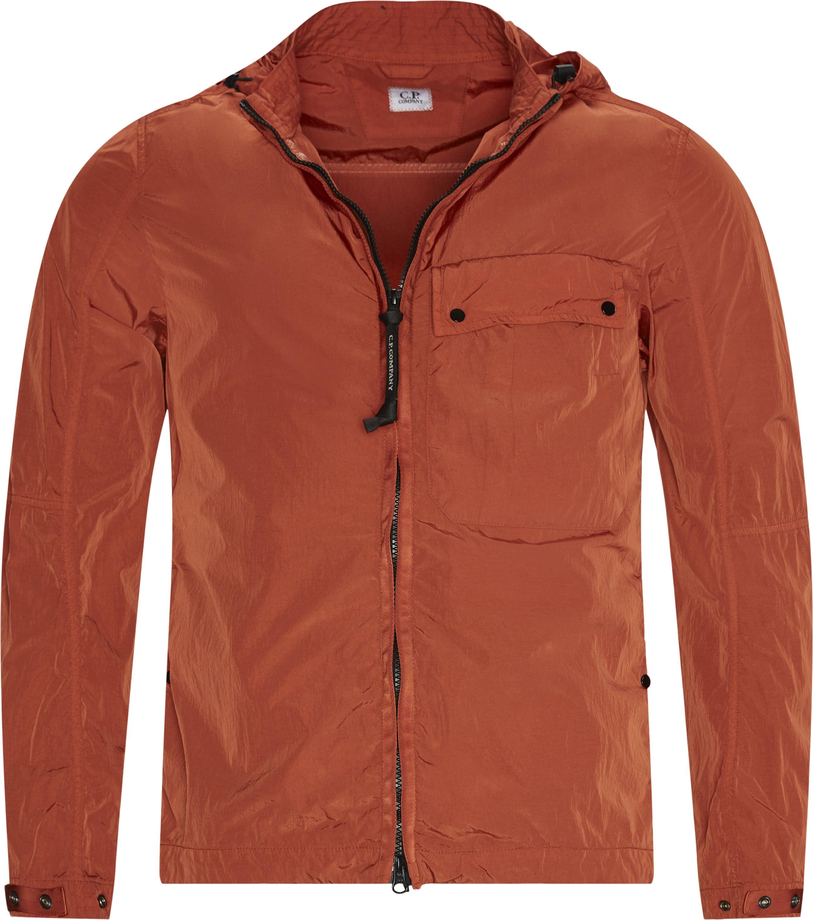 Overshirt Lens Jacket - Jakker - Regular fit - Orange