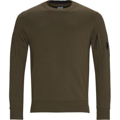 Garment Dyed Light Fleece Lens Crew Sweat Regular fit | Garment Dyed Light Fleece Lens Crew Sweat | Army