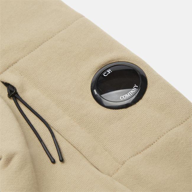 Garment Dyed Light Fleece Lens Crew Sweat