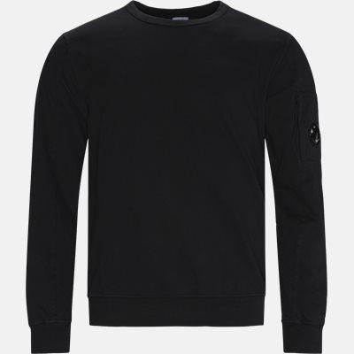 Regular | Langærmede t-shirts | Sort