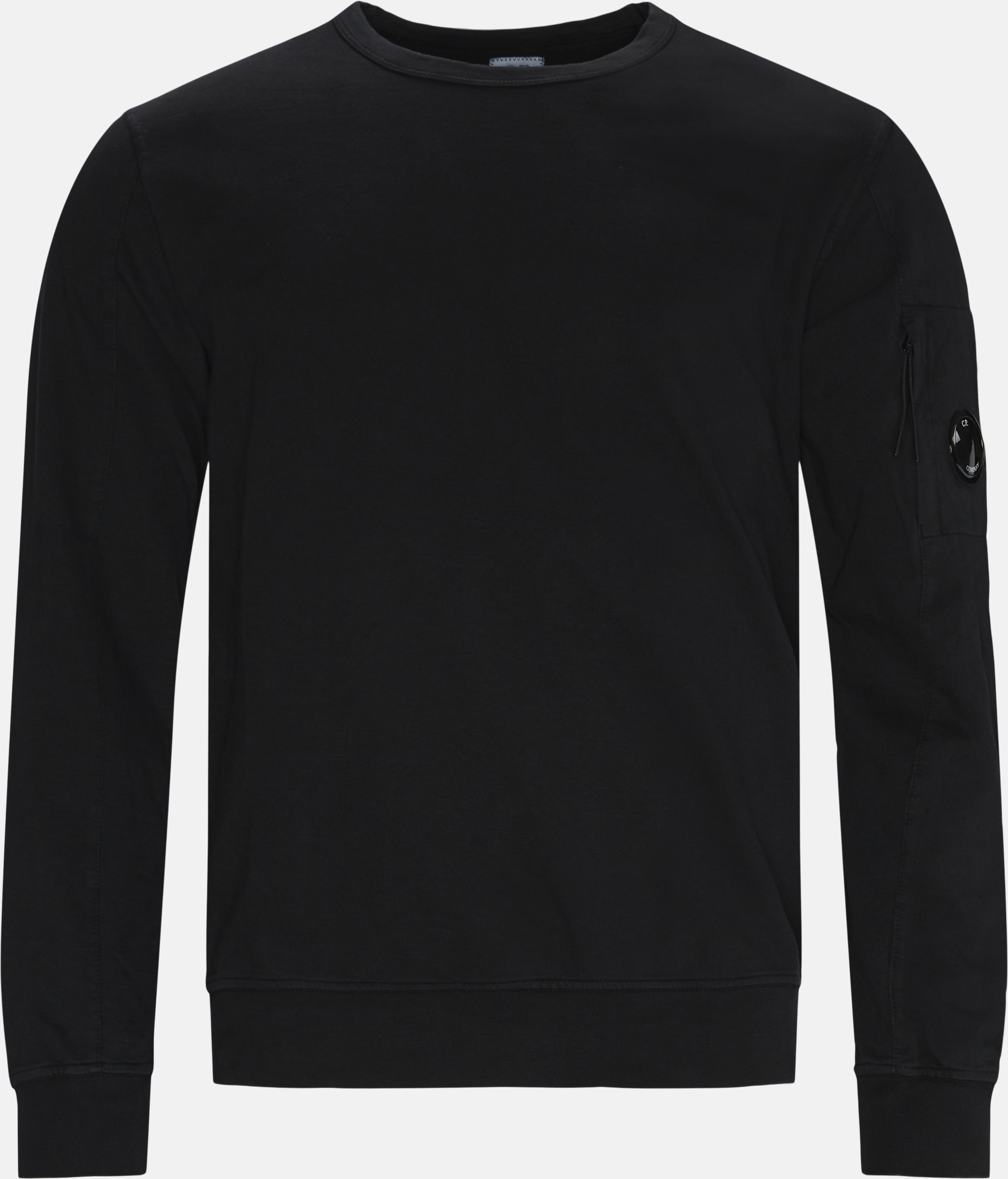 Long-sleeved t-shirts - Regular - Black