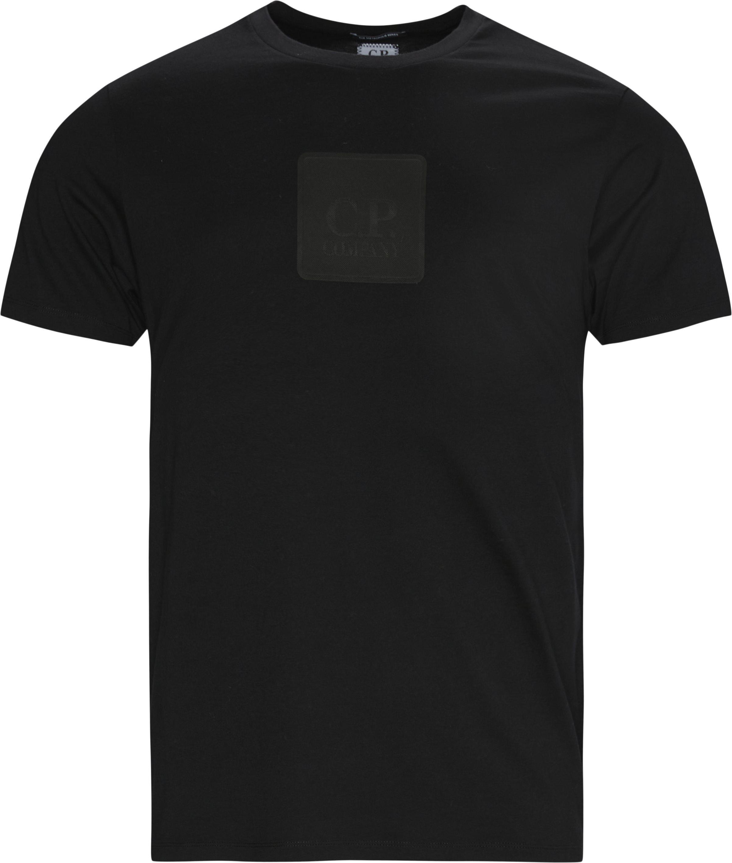 Logo Tee - T-shirts - Regular fit - Sort