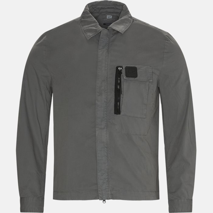Garbardine Logo Shirt - Skjorter - Regular - Grå