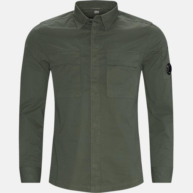 Emerized Gabardine Garment Dyed Shirt