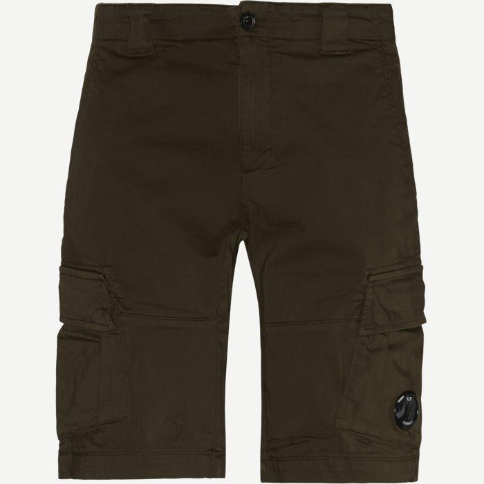 Shorts - Regular - Oliv