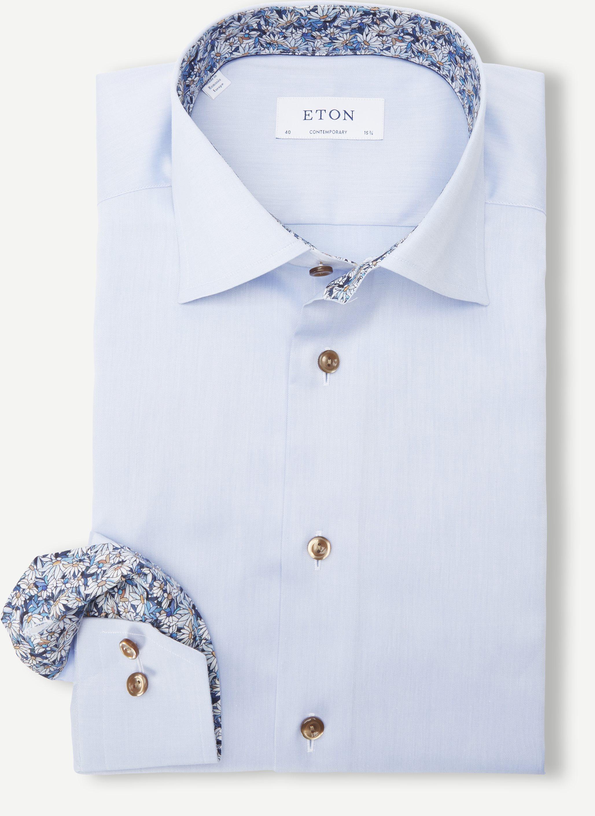 3000 79 Shirt - Skjorter - Contemporary fit - Blå