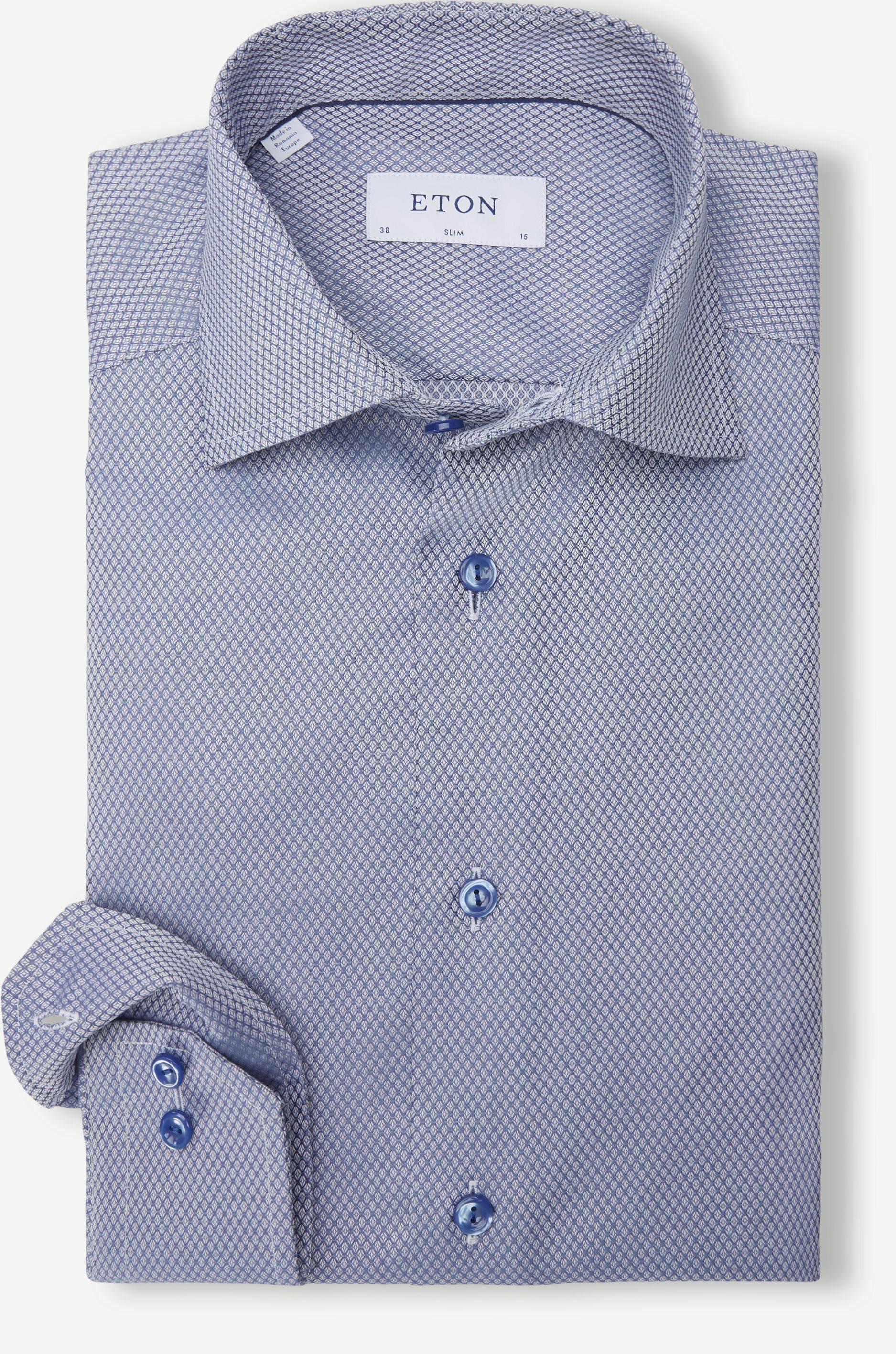 6020 79 Shirt - Skjorter - Slim fit - Blå