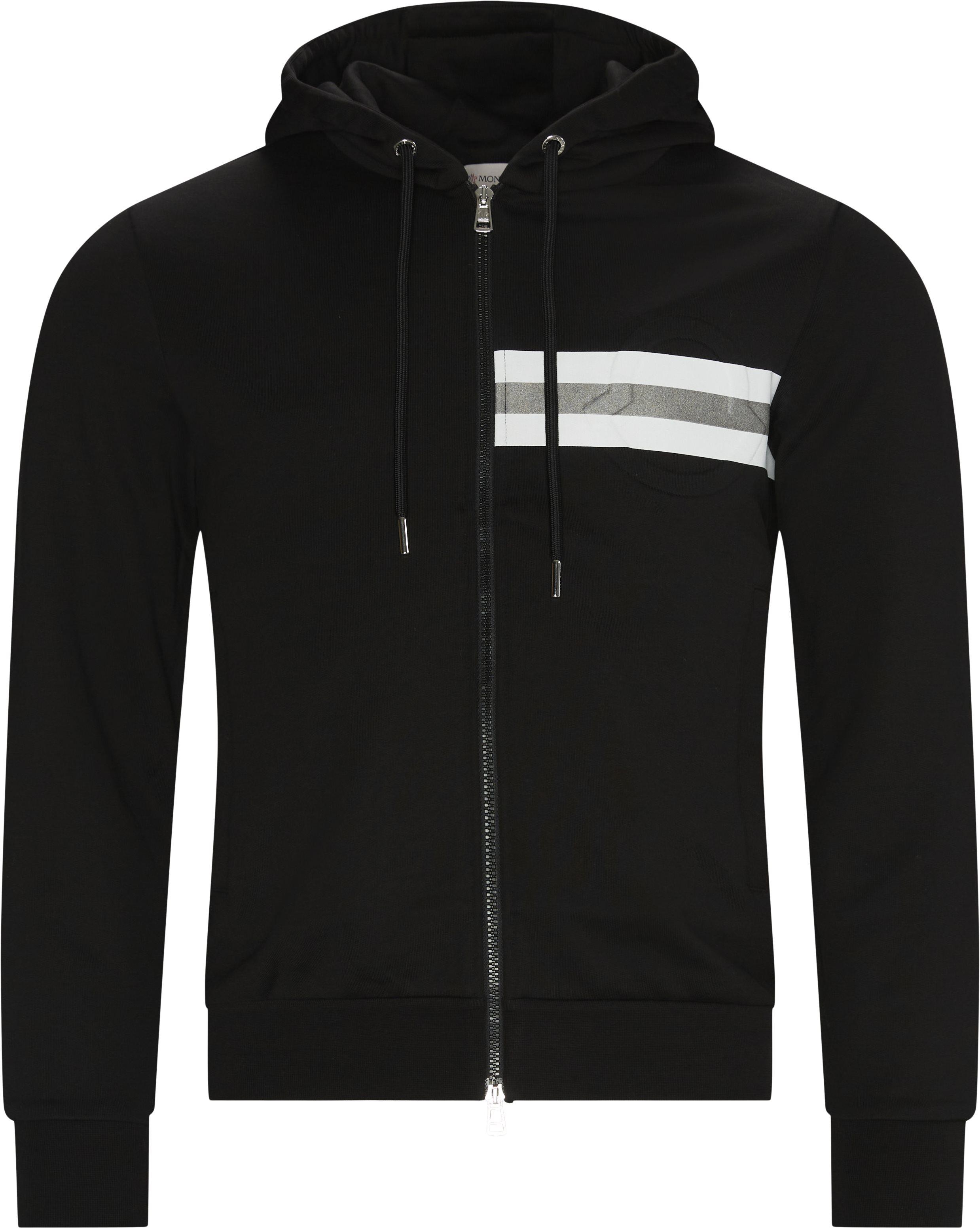 Sweatshirts - Regular fit - Sort