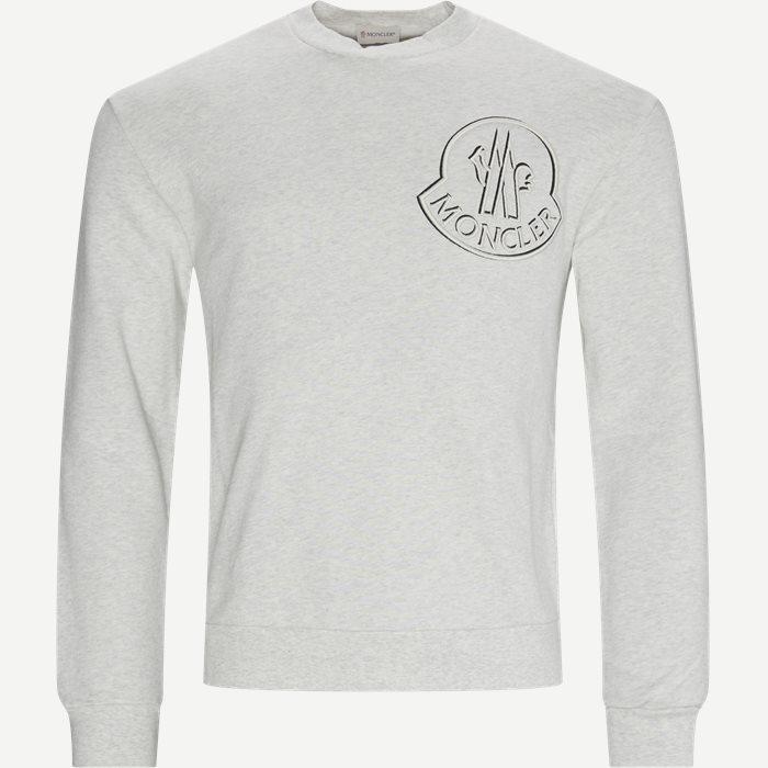 Girocollo Sweatshirt - Sweatshirts - Regular - Grå