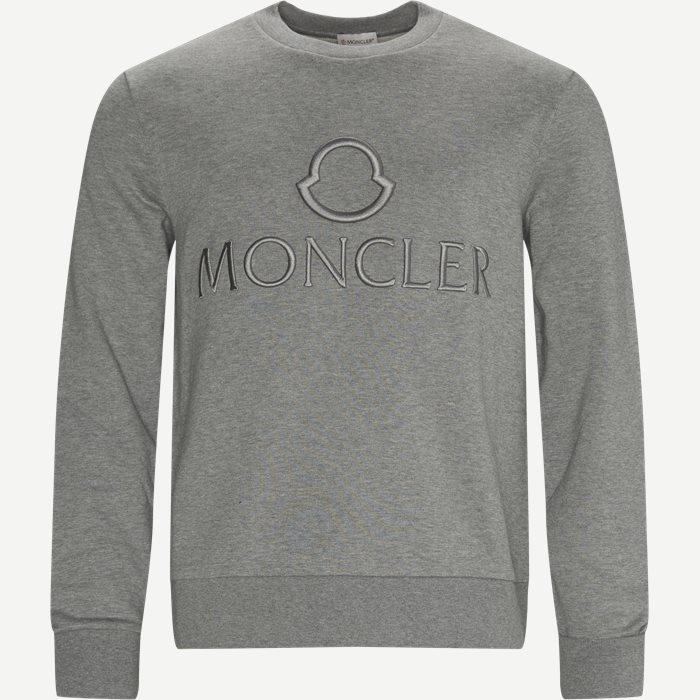 Girocollo Crewneck Sweatshirt - Sweatshirts - Regular - Grå
