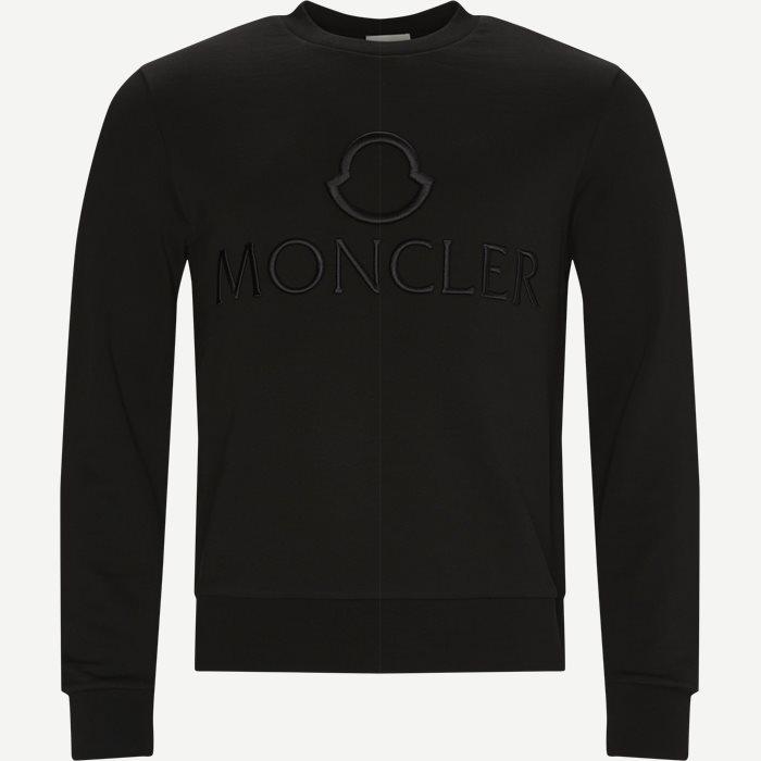 Girocollo Crewneck Sweatshirt - Sweatshirts - Regular - Sort
