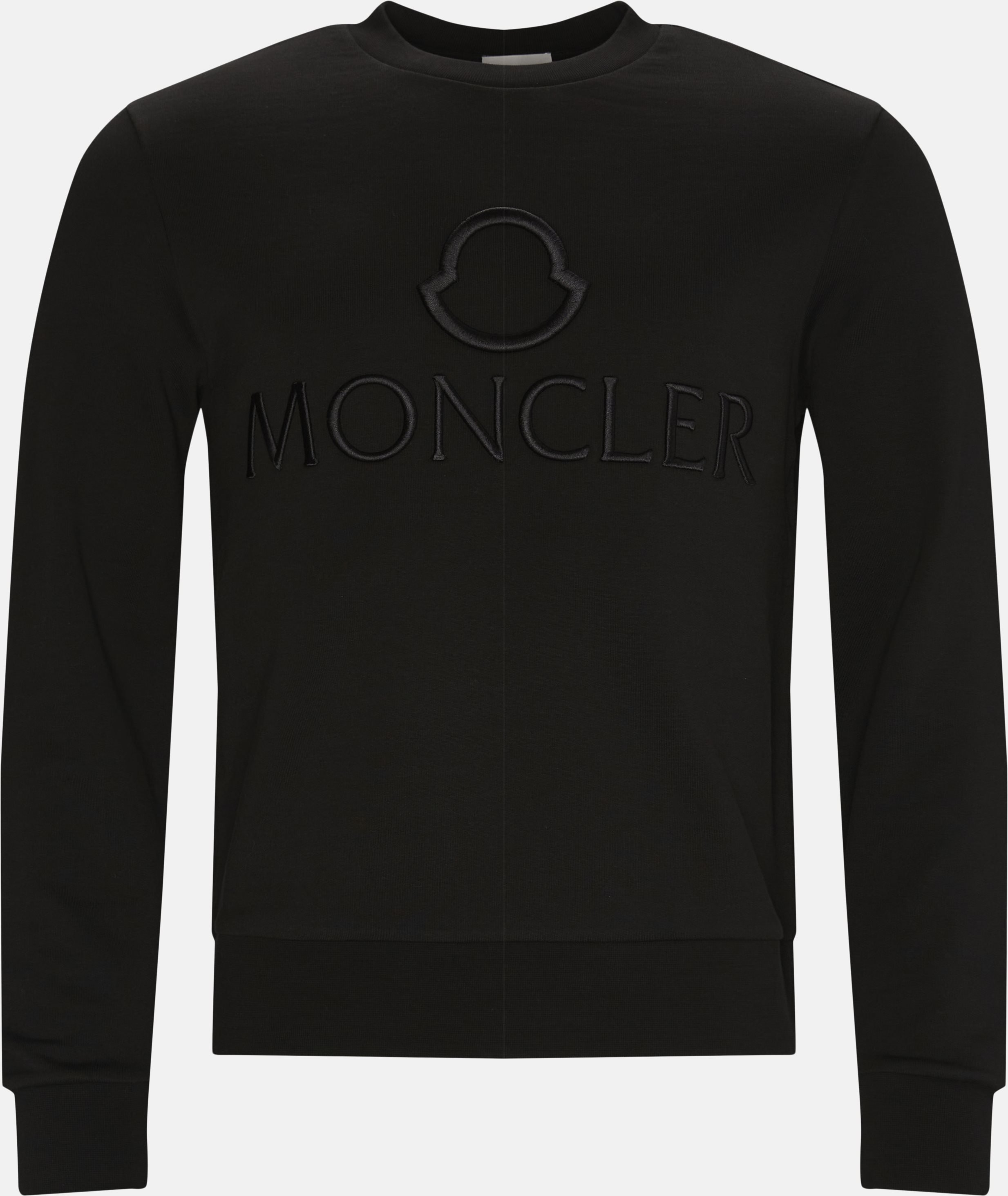 Girocollo Crewneck Sweatshirt - Sweatshirts - Regular - Black