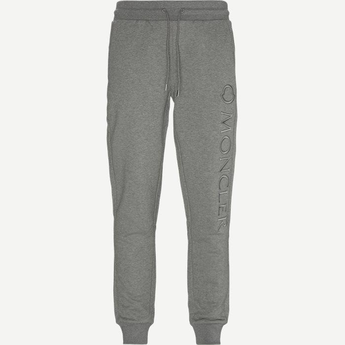 Trousers - Regular - Grey