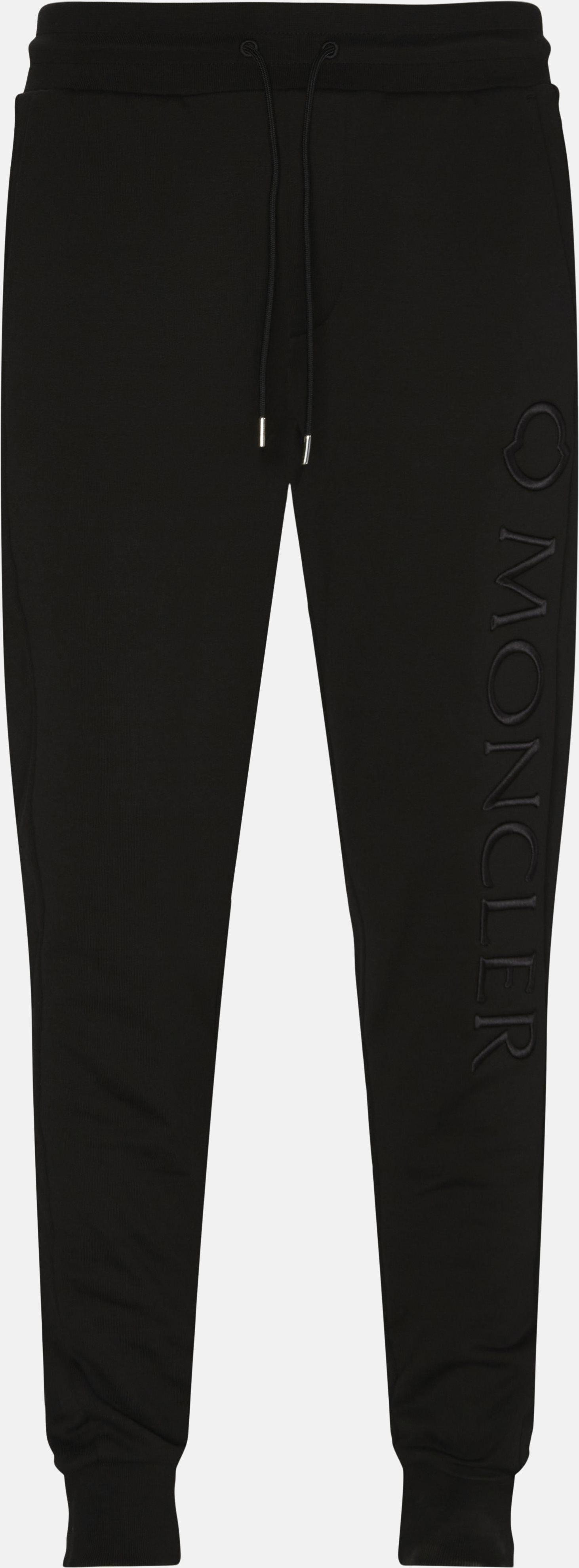Trousers - Regular - Black