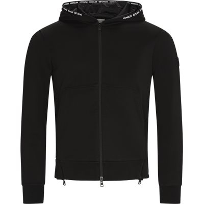 Maglia Cardigan Sweatshirt Regular | Maglia Cardigan Sweatshirt | Black
