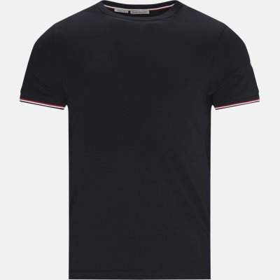 T-shirt Slim fit | T-shirt | Blå