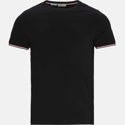 Slim fit | T-shirts | Black