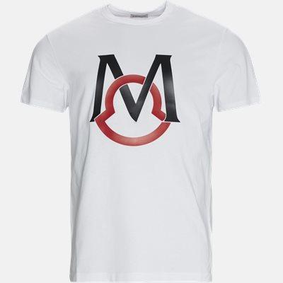 T-shirt Regular | T-shirt | Hvid