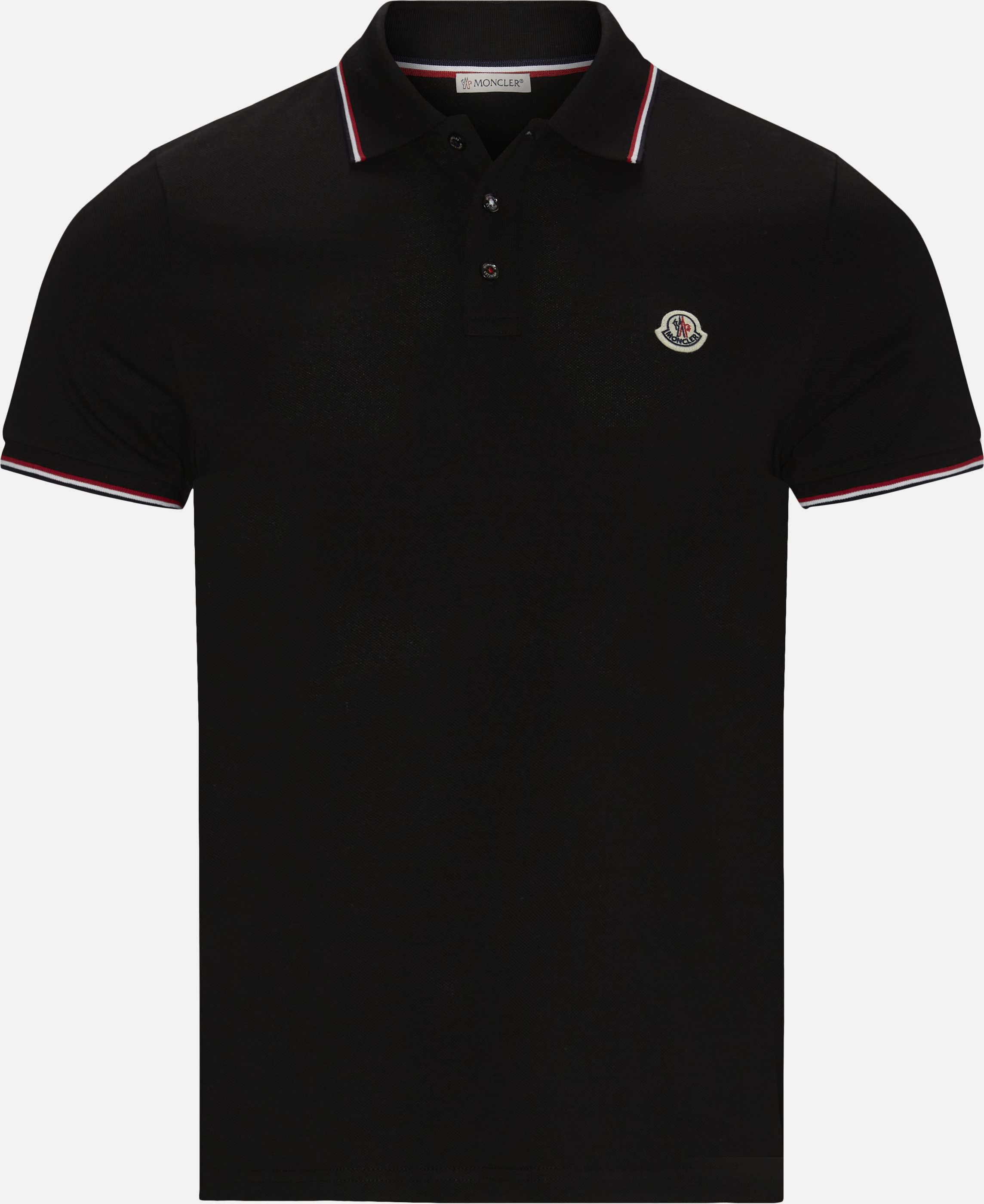 Polo T-shirt - T-shirts - Regular - Sort