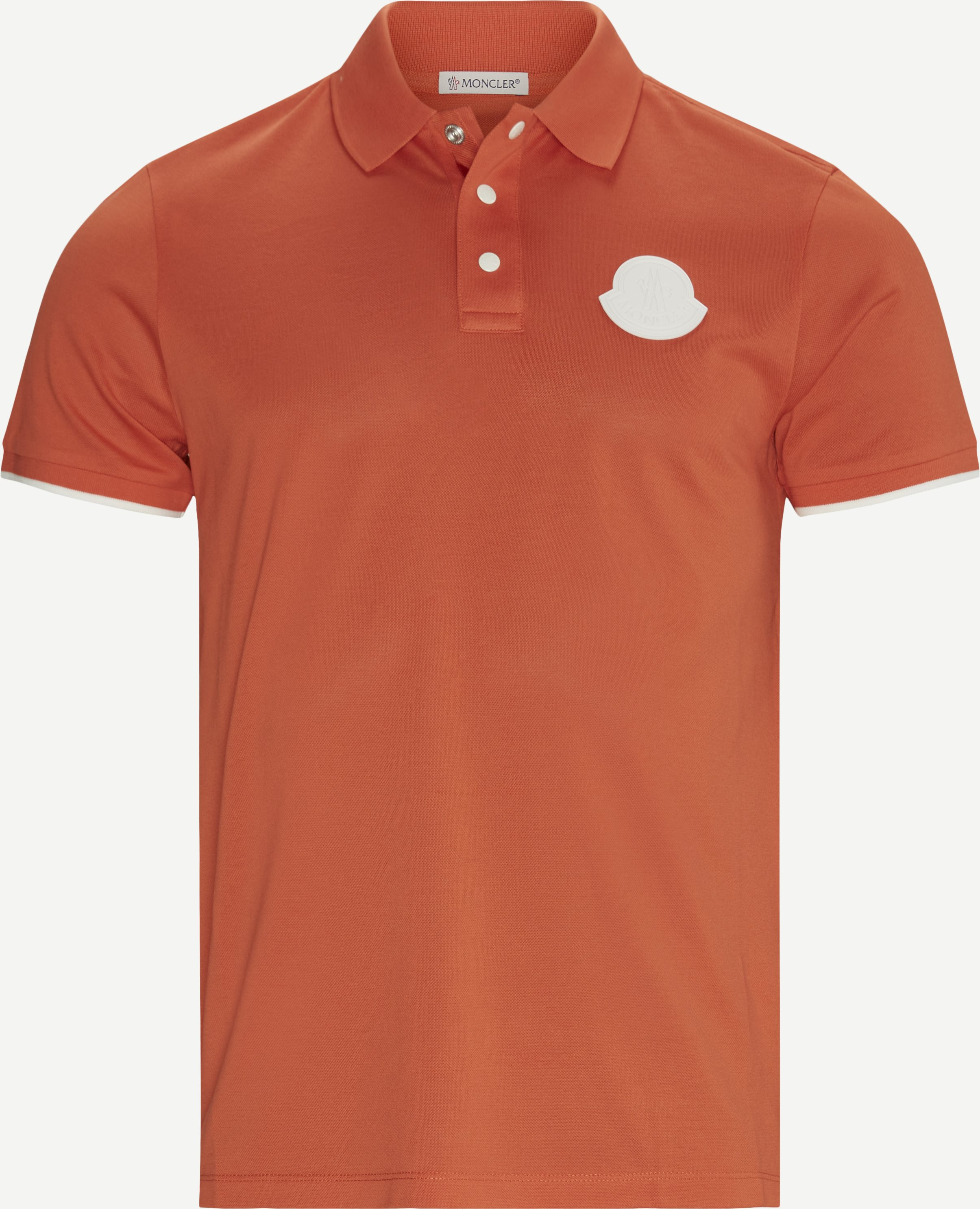 Maglia Polo T-shirt - T-shirts - Regular - Orange