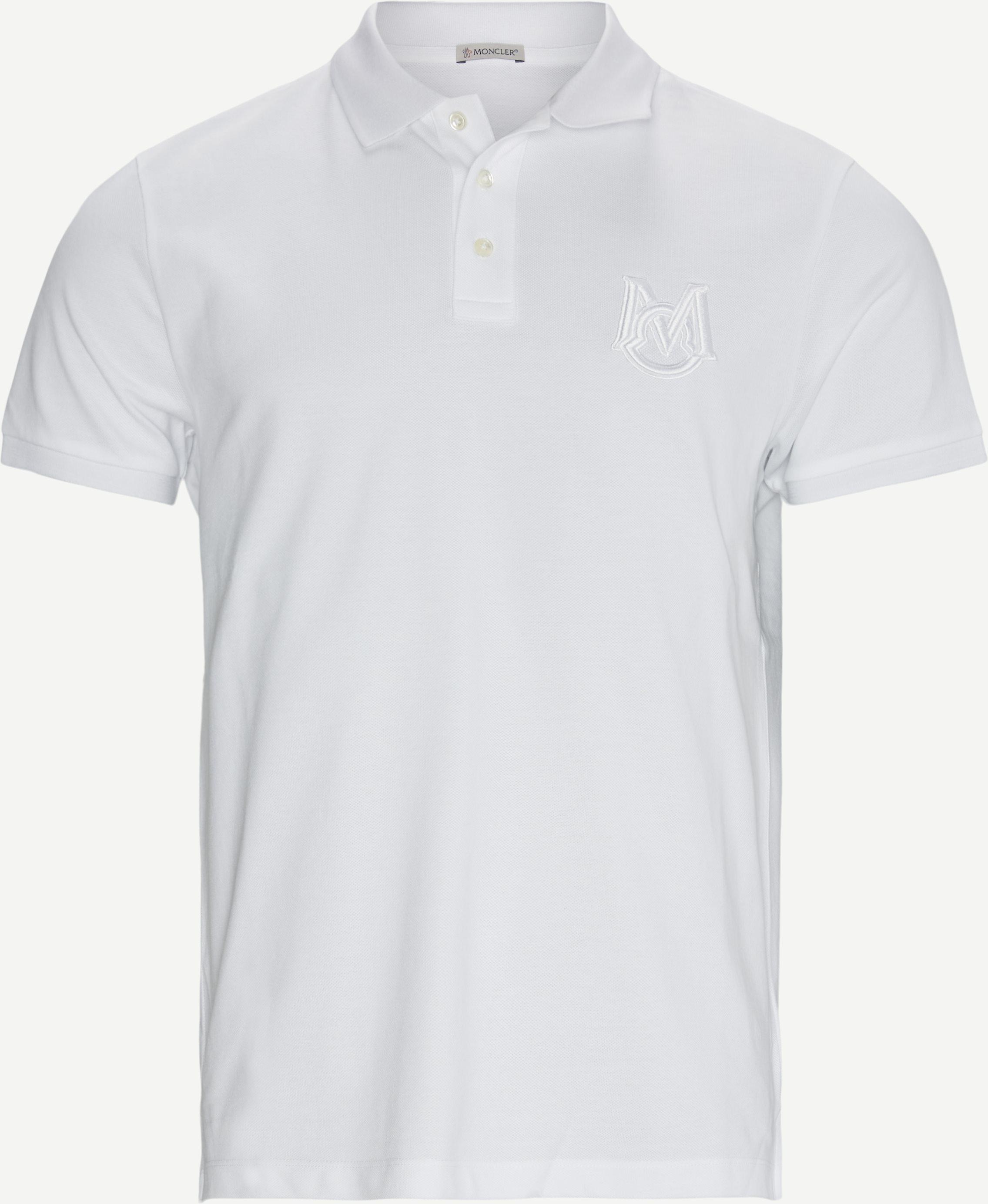 Polo Manica C T-shirt - T-shirts - Regular - Vit