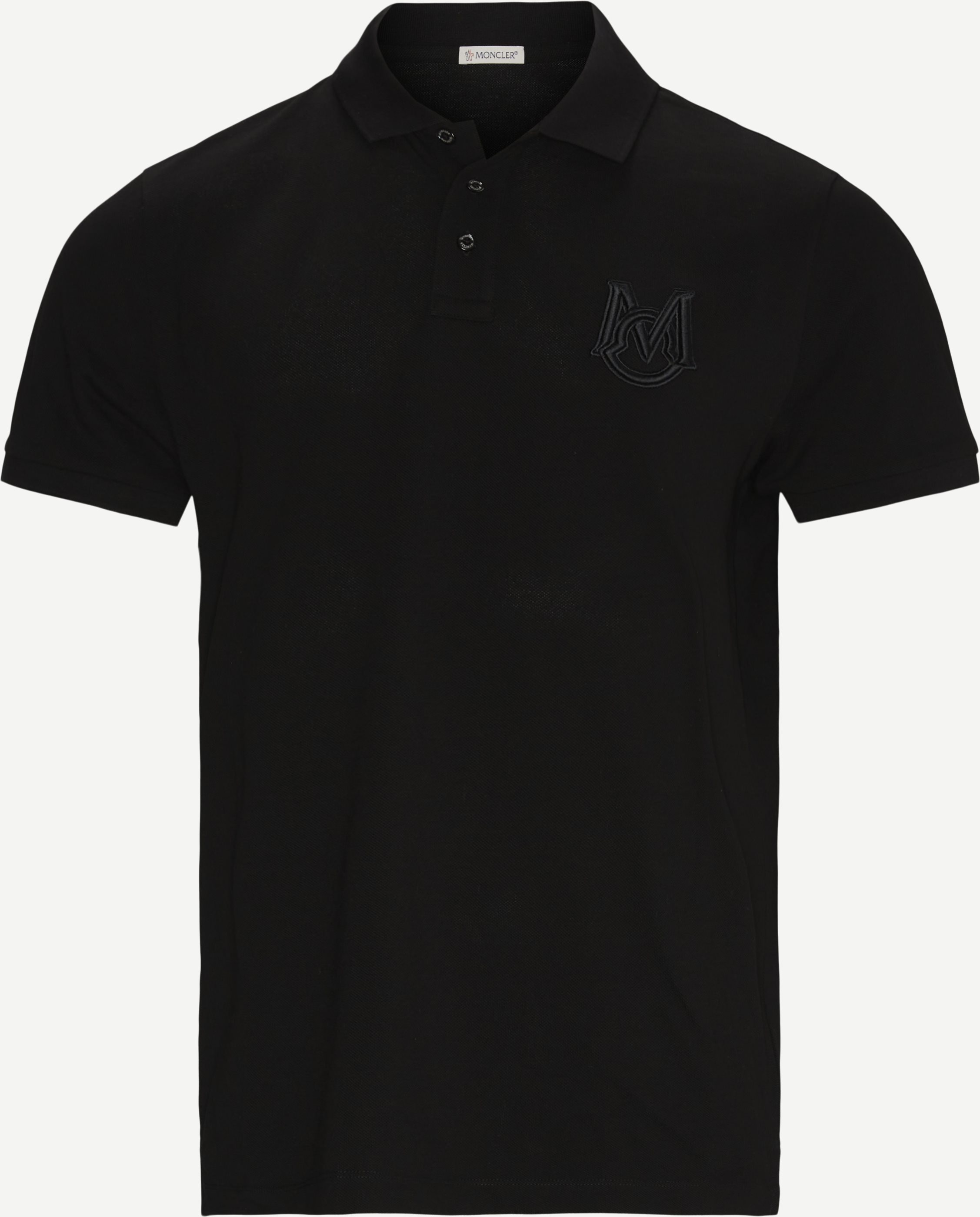 Polo Manica C T-shirt - T-shirts - Regular - Black