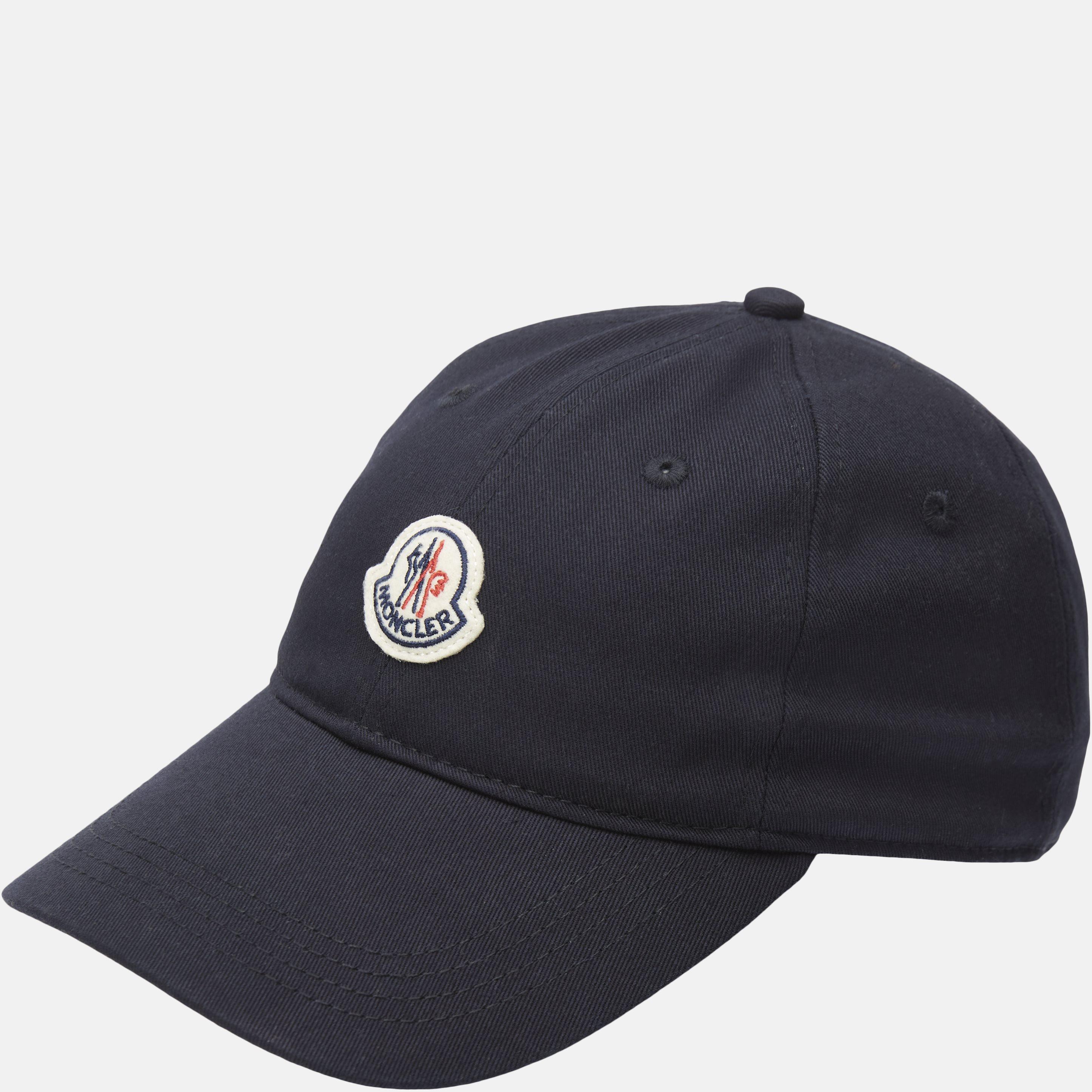 Basic Logo Cap - Huer - Blå