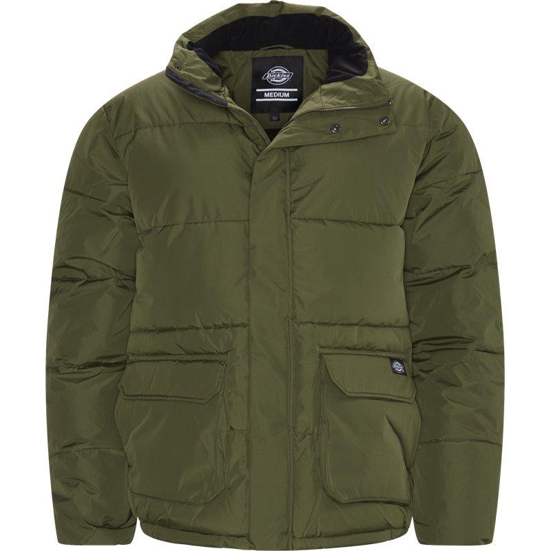 dickies Dickies olaton puffa jacket grøn fra quint.dk