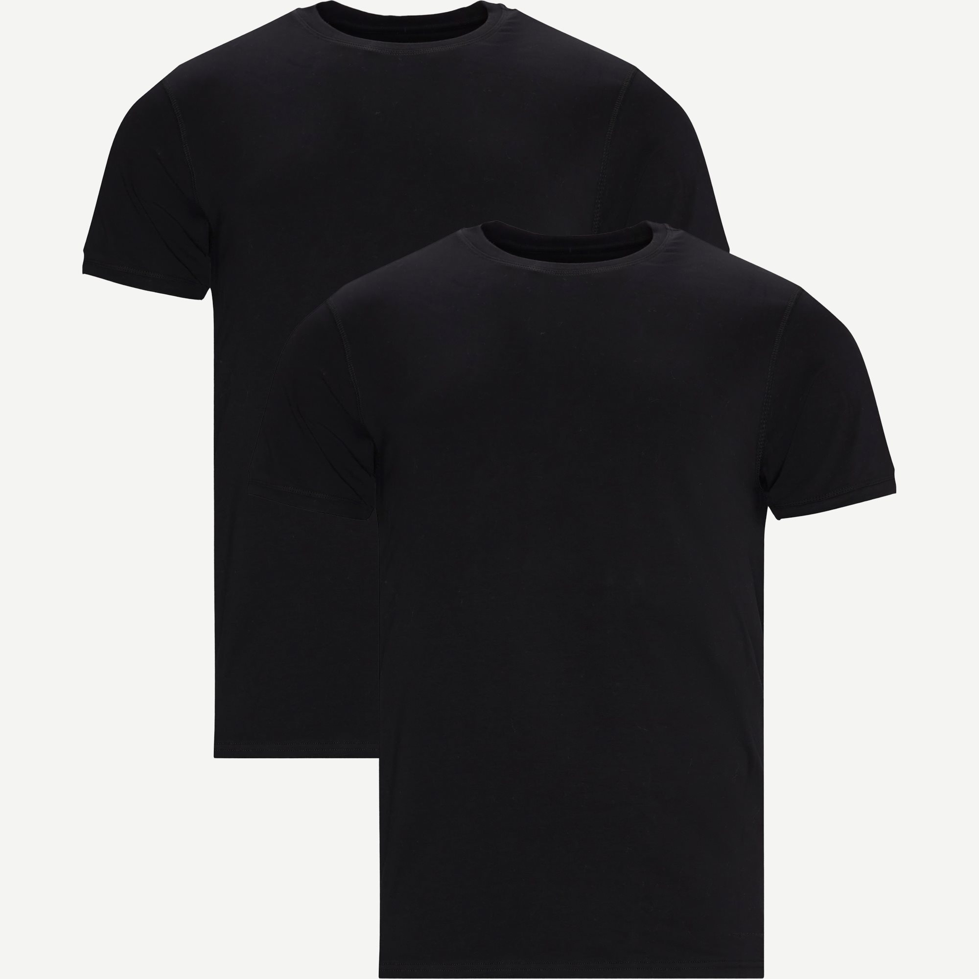 Heimdal Organic 2-Pack T-shirt - T-shirts - Sort