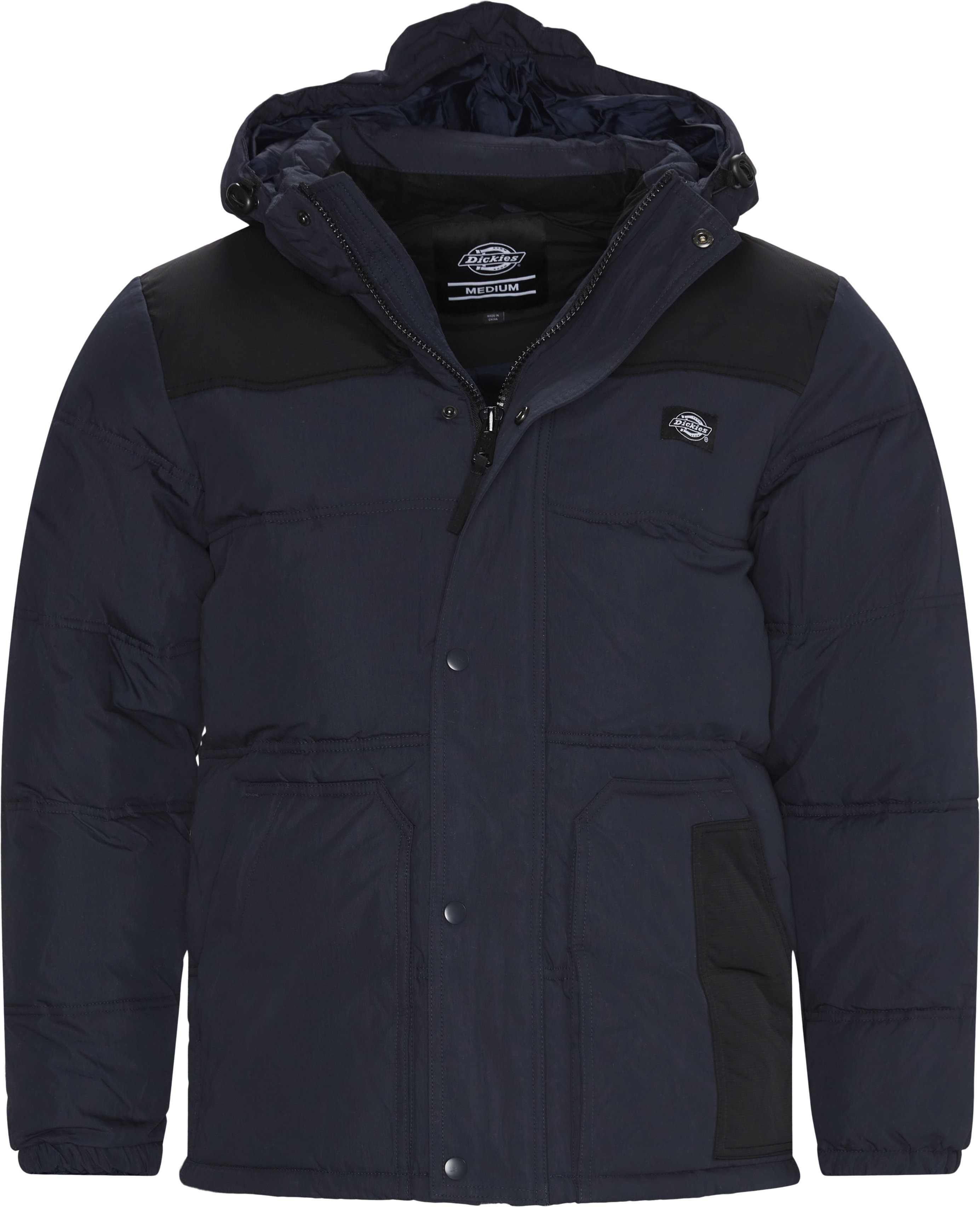 Lockport Puffa Jacket - Jakker - Regular - Blå