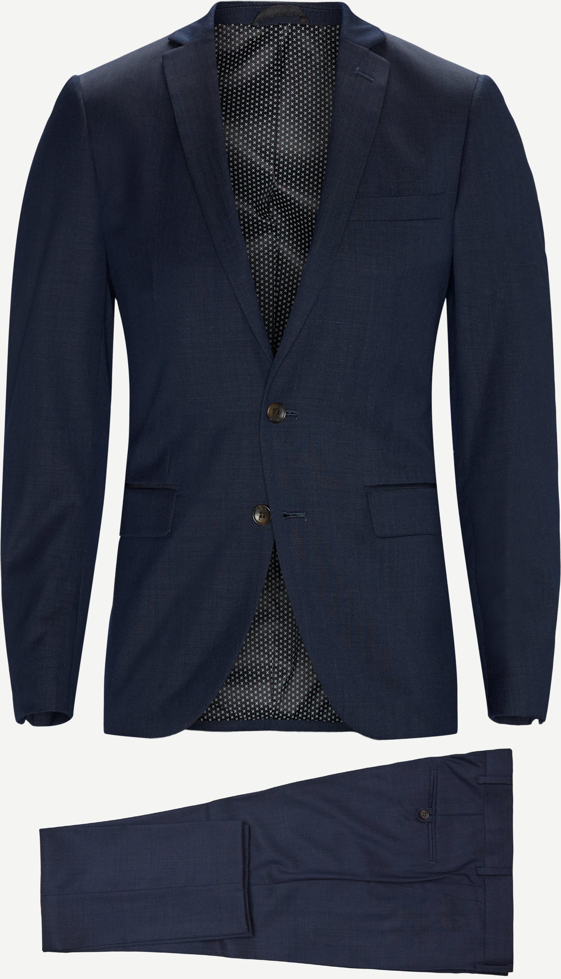 Anzüge - Slim - Blau