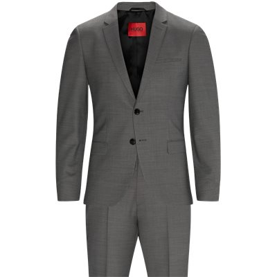 Slim fit | Kostymer | Grå