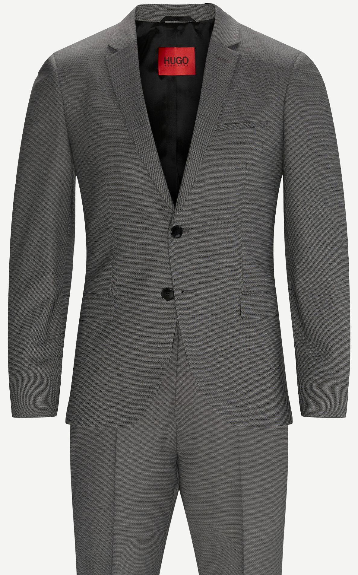 Kostymer - Slim fit - Grå