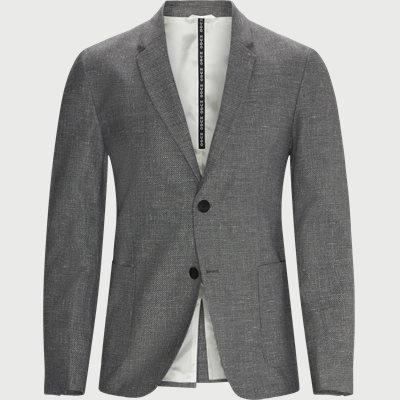 Slim fit | Blazer | Grau
