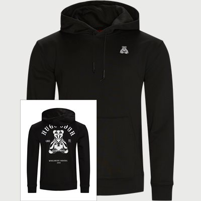 Disho Hooded Sweatshirt Regular | Disho Hooded Sweatshirt | Black