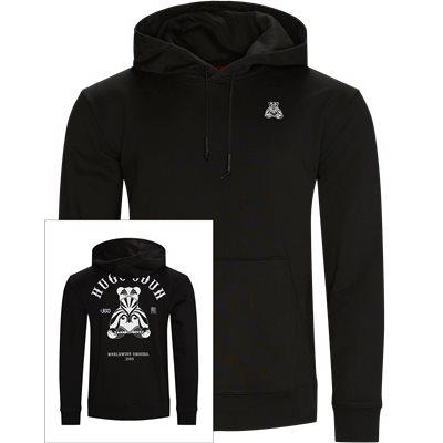 Disho Hooded Sweatshirt Regular | Disho Hooded Sweatshirt | Svart