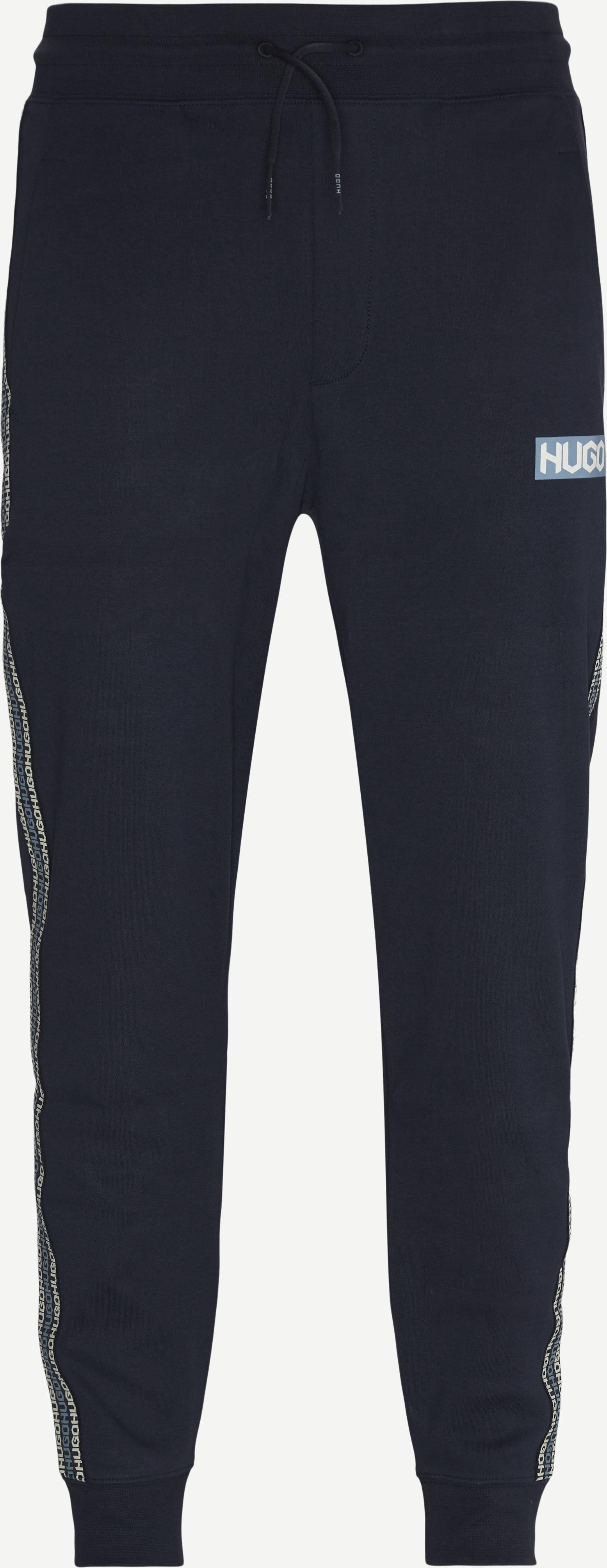 Hugo Sweatpant - Bukser - Regular - Blå