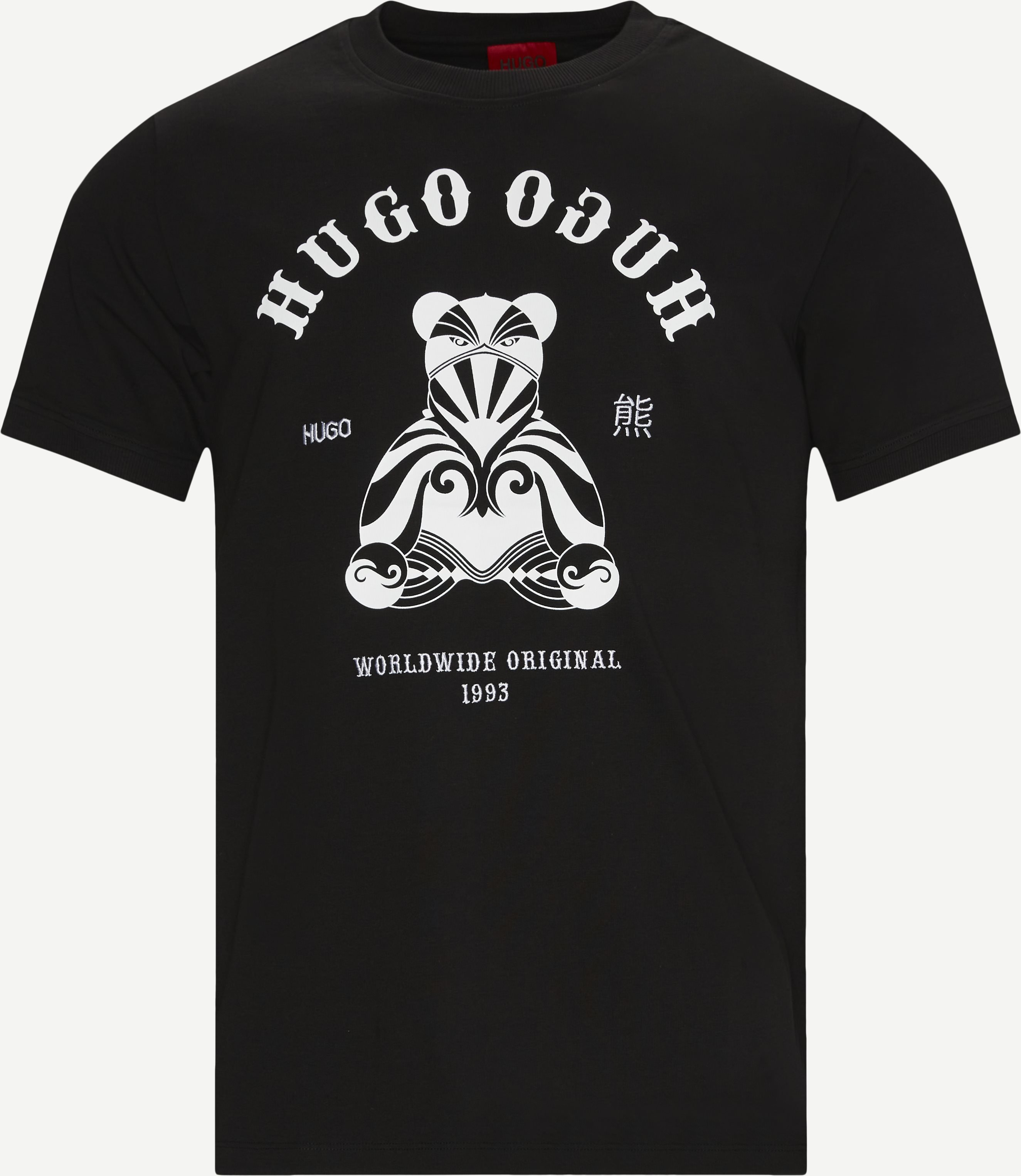 Duto T-shirt - T-shirts - Regular - Svart