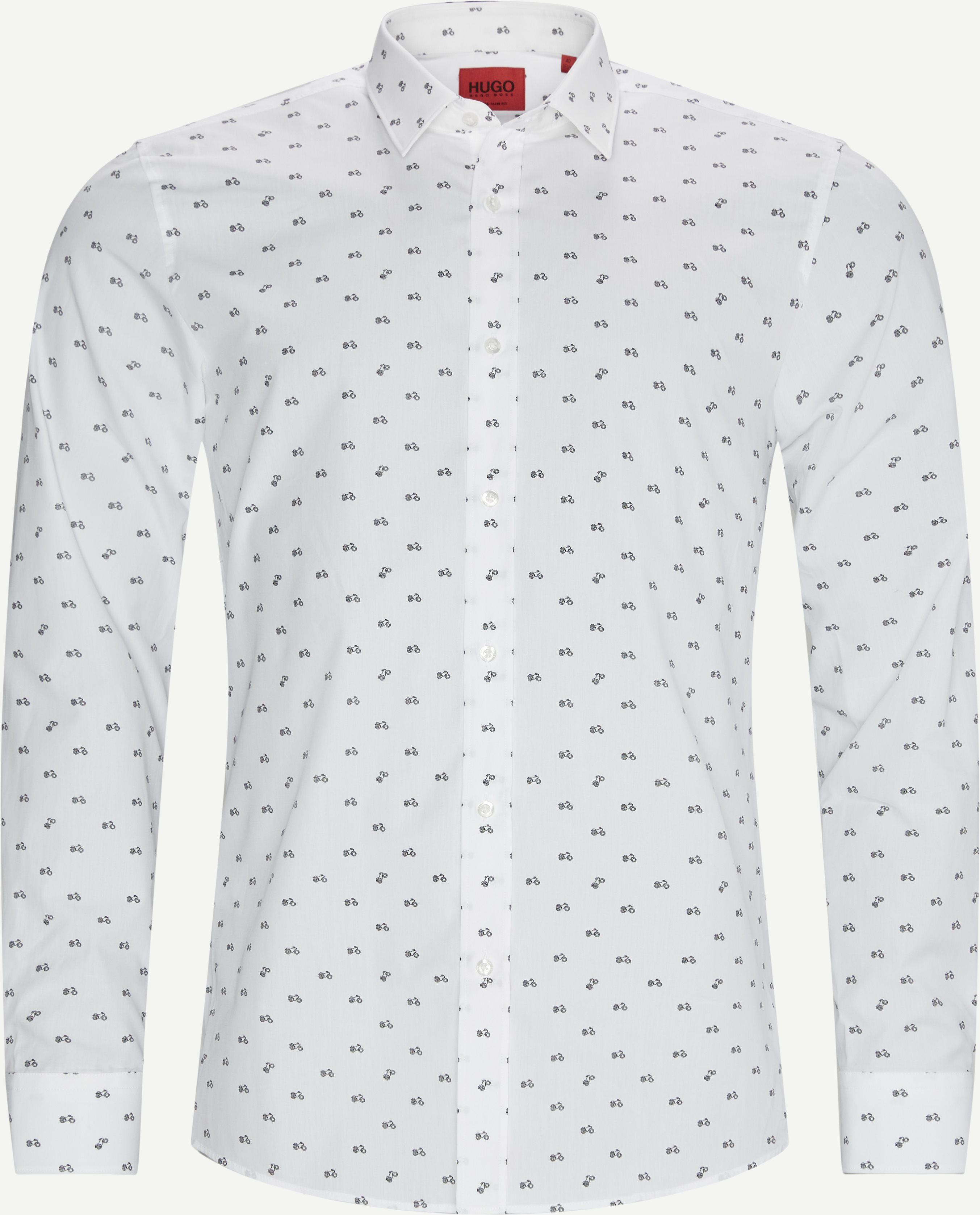 Elisha Skjorte - Shirts - Slim - White