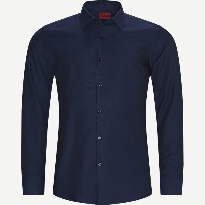 Kenno Shirt - Shirts - Slim - Blue