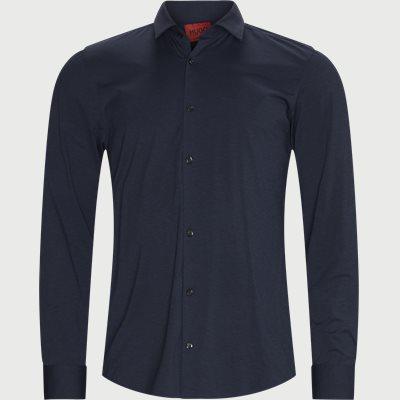 Ermo Skjorte Slim fit | Ermo Skjorte | Blå